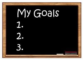 My Goals title