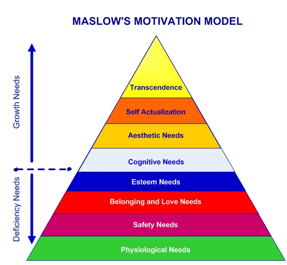 Maslow's Hierarchy 8 Levels