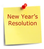 New year's Resolution post