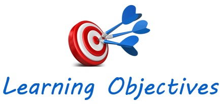 Learning Objectives target